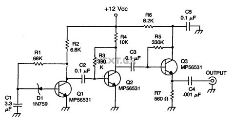microwave noise diode zener diode noise generator 28 images index 130 signal processing circuit diagram seekic