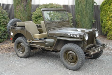 army jeep 1952 willys m38 mc army jeep like mb ford gpw