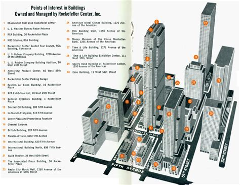radio city music hall floor plan rockefeller center an adventure in urban design