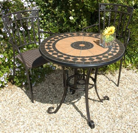 Patio Cherbourg by Cherbourg Garden Bistro Set Ceramic Table With 2