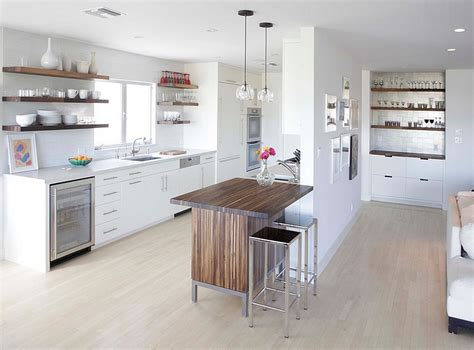 kitchens with small islands 24 tiny island ideas for the smart modern kitchen
