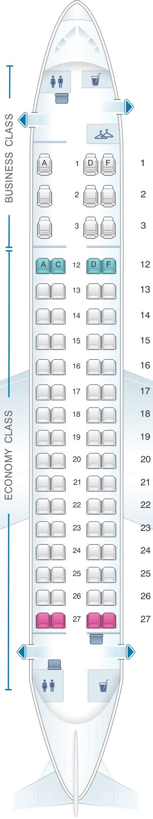 embraer erj 175 seat map plan de cabine air canada embraer e175 seatmaestro fr