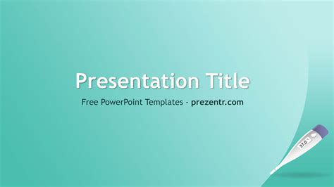 Free Thermometer Powerpoint Template Prezentr Thermometer Powerpoint Template