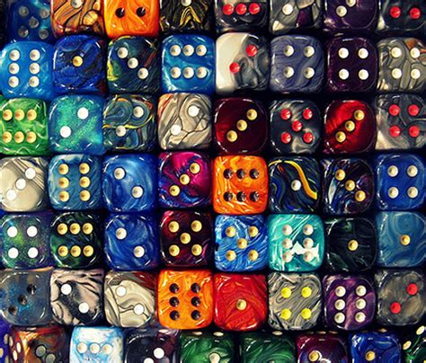 color dice 3d multi color dice photo