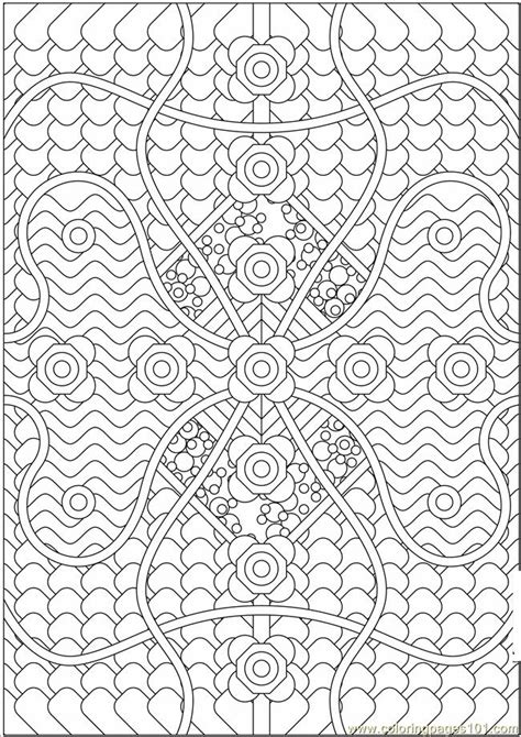 Patterned Coloring Pages ausmalbilder f 252 r kinder malvorlagen und malbuch