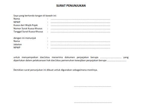 format surat kuasa pmk 229 surat kuasa khusus pajak syarat ketentuan dan format