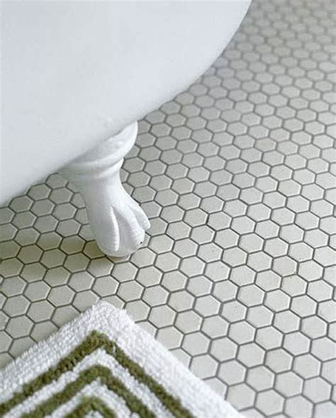 hexagon floor tile patterns studio design gallery - Hexagon Bathroom Floor Tiles