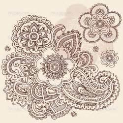 indian doodle paisley designs paisley floral doodle