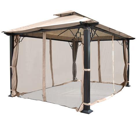 pavillon 5x3 pergola nisa garten pavillon stabiles 12cm luxus alu