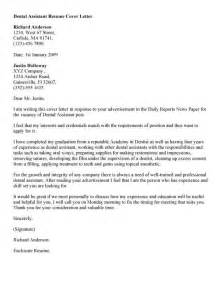 Dental Hygiene Cover Letter Sles by Cover Letter For Dental Assistant Digg3