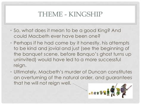 themes of kingship in macbeth macbeth revision