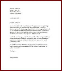 cover letter for event sponsorship proposal 1 - Cover Letter For Sponsorship Proposal