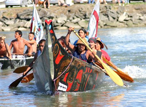 quileute canoes stroke of a pen wrong kind of green