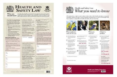 printable h s law poster health and safety at work act 1974 explained