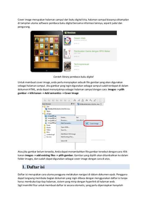 5 format buku digital tutorial pembuatan buku digital interaktif menggunakan sigil
