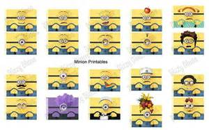 Minion printables wish i could find the website for this