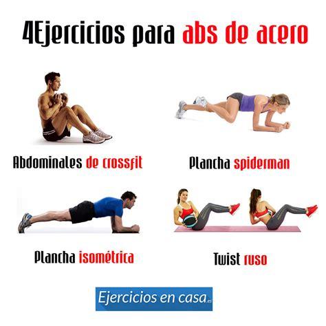 4 ejercicios para el abdomen en casa rutina ejercicios - Ejercicios Para Abdomen En Casa