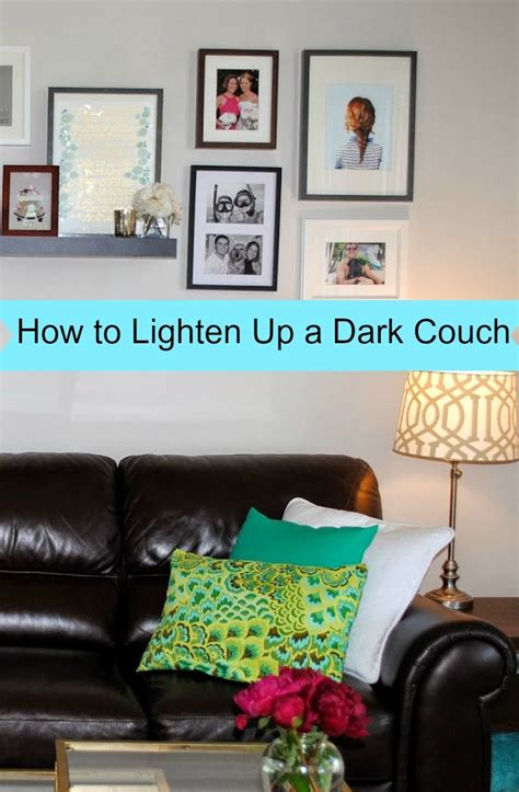 how to make a dark room look brighter best 25 dark couch ideas on pinterest black sofa living