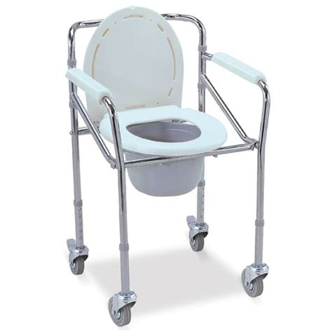 Toilet Chair by Commode Chair With Wheels Omnisurge Supplies