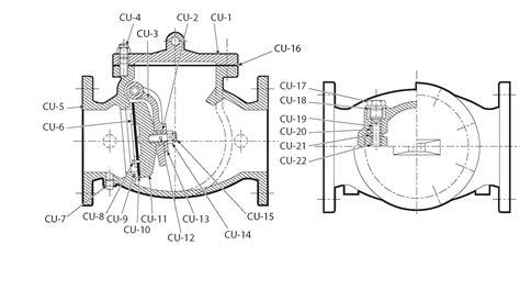mueller swing check valve mueller 174 2 5 12 inch ul fm gravity swing check valve flxfl