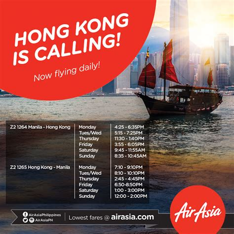 airasia hong kong airasia ups manila hong kong to daily flights wazzup