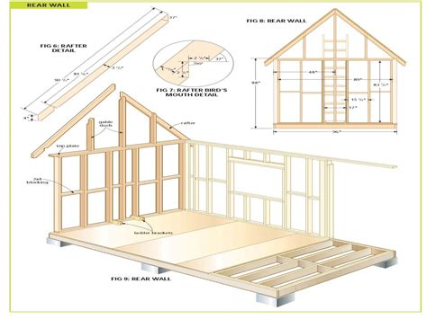 shed plans wood storage shed plans free large firewood storage shed