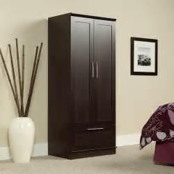 Clothing Armoire Walmart by Sauder Homeplus Wardrobe Storage Cabinet Walmart