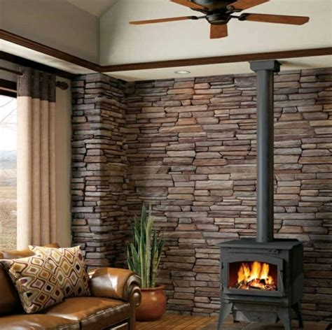 innen steinwand steinwand wohnzimmer eine gehobene und stilvolle einrichtung