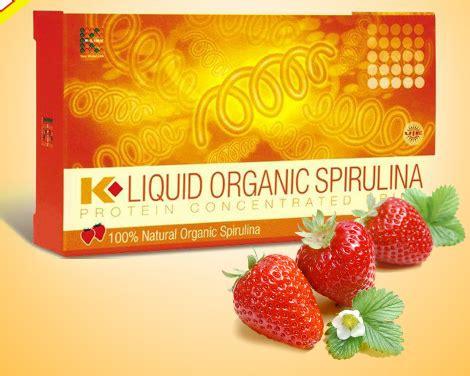 Kliquid Organic Spirulina k liquid organic spirulina sản phẩm tăng c 226 n tự nhi 234 n