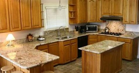 quartz countertops oak cabinets and on pinterest idolza golden oak cabinets with quartz google search kitchens