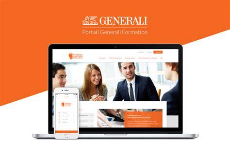 generali on line generali portal ui ux web design portfolio