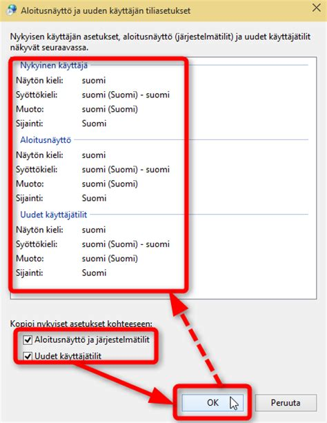 region and language region and language settings