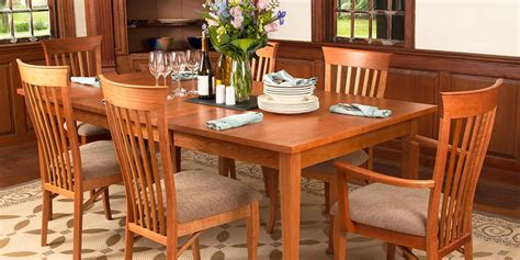 shaker style dining room table home design inspirations