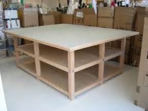 best 25 sewing cutting tables ideas on