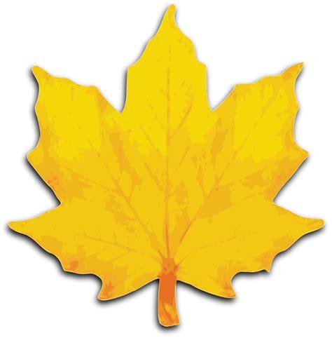 best yellow clip art autumn leaves yellow clipart best
