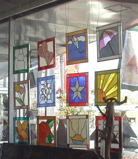 Simple Country Home Decor how to hang a stained glass window gomm stained glass