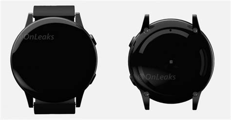 renders of samsungs next smartwatch appears to be missing a rotating bezel renders of samsung s next smartwatch appears to be