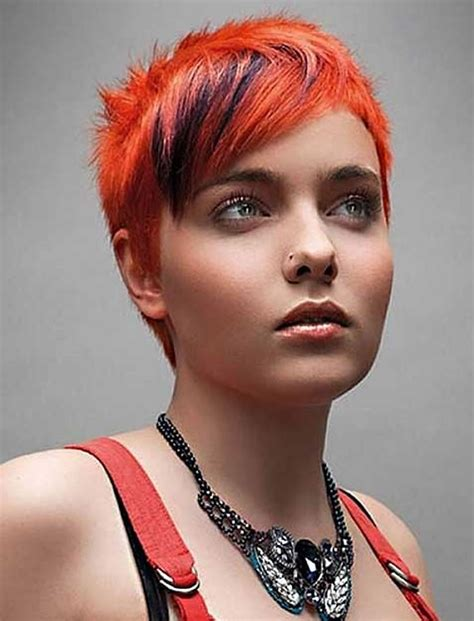 hairstyles red red hair color for short hairstyles 27 cool haircut