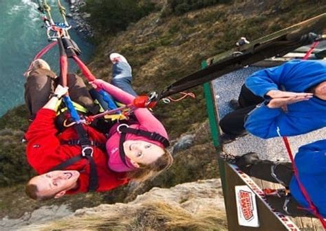 canyon swing uk things to do in queenstown attractions events rydges