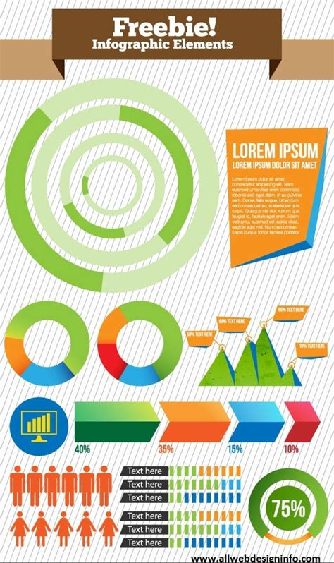 infographic design elements in vector free vector infographic elements visual ly