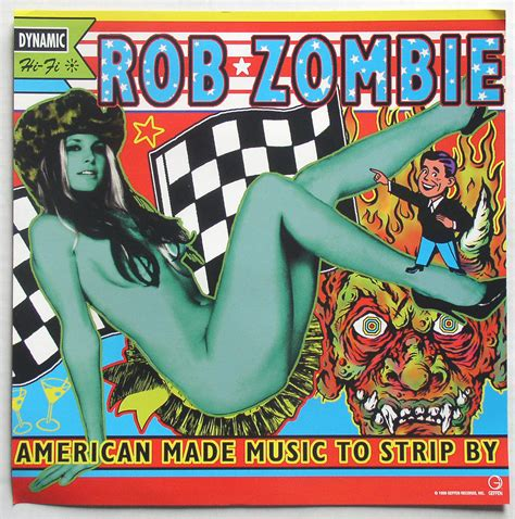 super sexy swinging sounds rob zombie american made music to strip by promo flat