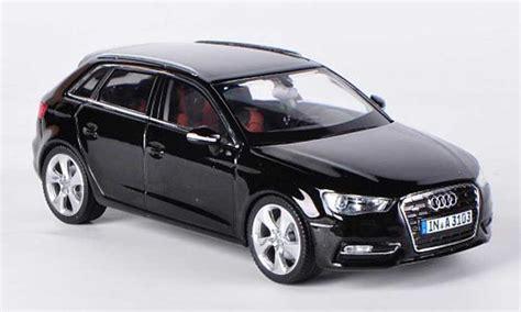 Audi A3 Sportback Modellauto audi a3 sportback schwarz 2012 schuco modellauto 1 43