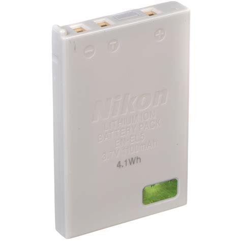 Battery Nikon En El5 By Invicom nikon en el5 lithium ion battery 3 7v 1100mah 25625 b h