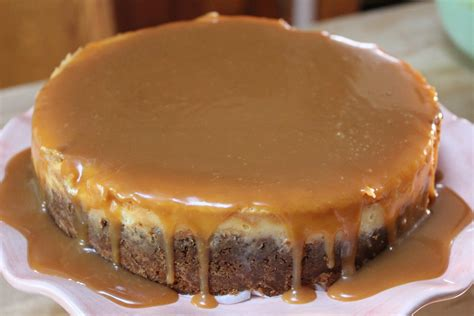 Lemon Beurre Blanc Recipe by Creme Brulee Cheesecake With Salted Caramel Sauce Chef