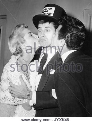 Jerry Lewis Three On A by Janet Leigh Jerry Lewis Three On A 1966 Stock Photo Royalty Free Image 30941604 Alamy
