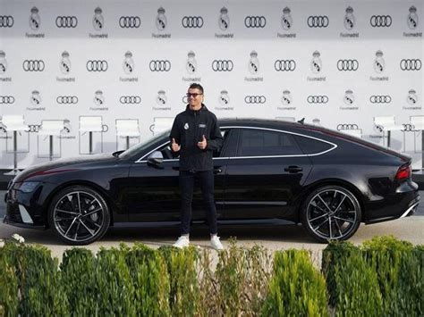 Ronaldo Audi by Ronaldo Given Brand New Audi Rs7 As Real Madrid Receive