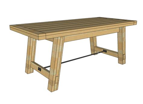 dining table  dining table bench plans