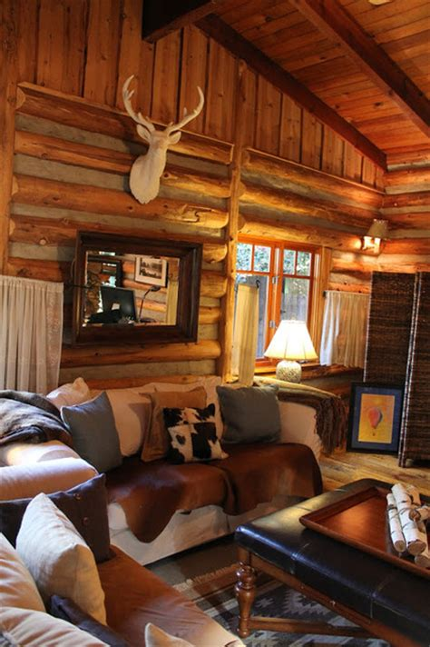 Adirondack Home Decor by Adirondack Style Lodge Rustic Living Room Los Angeles By Modern Home