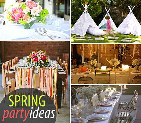 20 spring diy ideas and party time the 36th avenue 20 colorful spring party ideas