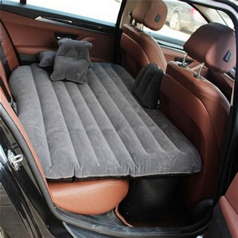 car air bed gray